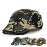 Unisex Cotone cappello camuffamento berretto fibbia regolabile carta ragazzo tassista militare Golf cap gentleman