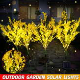 Outdoor zonne-energie LED Canola bloemen gazon licht waterdichte tuin Lamp Home Decoration