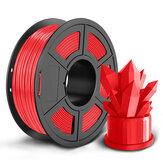 SUNLU 1KG PLA 1.75MM Filamento 10 cores disponíveis Filamento de alta resistência para impressora 3D