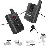 SYNCO WMic-T1 système de Microphone Lavalier sans fil micro vidéo revers 16 canaux portée de Transmission maximale de 50 m pour appareil photo et Smartphones