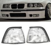 Corner Lights Side Lights For BMW E36 3-Series 2DR Coupe/Convertible Clear Lens