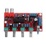 LM1036 Luxueux HIFI Amplificateur Préamplificateur Carte de contrôle de volume DC 15V AC 12V ou 15V 1000UF