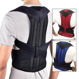 Xmund XD-069 Back Support Protection Back Shoulder Posture Pain Relief Corrector Belt Strap Reinforcement