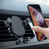 FLOVEME Car Phone Holder Air Vent Mount Gravity Auto Lock 360° Rotation for iPhone XS Max / Xiaomi