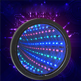 Sensory Infinity Mirror Light LED Tunnel Wall Rilassante Calma Stage lampada