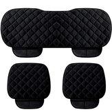 Fundas de asiento universales 3PCS Thicken Cushion Protector trasero delantero antideslizante