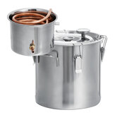 5L/12L/20L/30L Home Alcohol Distiller Brewing Kit Moonshine Still Stainless Boiler