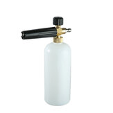 1/4 Inch Snow Washer Foam Car Wash Spray Pressure Soap Bottle 7 Angles Brass Adapter