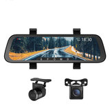 70mai Midrive D07 1080P 9.35 بوصة تيار وسائط متعددة Car DVR Dash Cam Full شاشة Rearview 130FOV Mirror Recorder