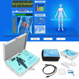 Bahasa Inggris Spanyol Quantum Magnetic Resonance Health Body Analyzer Generasi Terbaru