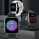 [Bluetooth-oproep] Bakeey S5 1,5-inch volledig touchscreen Hartslag bloeddrukmeter Muziekcamerabediening Weerweergave Smart Watch