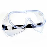 Transparent Goggles Adjustable Chemical Splash Impact Resistant Fully Enclosed Goggle Clear Anti-Fog Anti-Dust