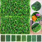 40x60cm Artificial Hedge Mat Foliage Plant Wall Fence Grass Greenery Panel Decorations