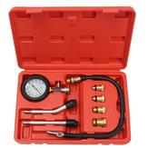 Pro Tester per compressione cilindro motore a benzina per benzina Olio Kit per manometro auto