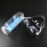 HD Waterproof Anti-fog Swimming Goggles with Earplug