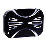 RIGHT Motorcycle Brake Master Cylinder Cover For Harley Touring Street Glide 14-16 ShallowCut