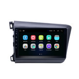YUEHOO 9 Pollici per Android auto Radio Lettore multimediale 2G / 4G + 32G bluetooth GPS WIFI 4G FM AM RDS per Honda Civic 2012-2015