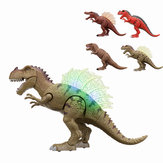 Walking Dinosaur Spinosaurus Light Up Giocattoli per bambini Figure Suoni Real Movimento LED con proiezione