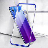 Bakeey Plating Transparent Shockproof Soft TPU Back Cover Protective Case for Xiaomi Redmi 7 / Redmi Y3 Non-original