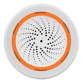 Bakeey Tuya Zigbee capteur de température et d'humidité pour maison intelligente thermomètre hygromètre détecteur d'alarme de lumière sonore