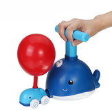 Power Balloon Launch Tower Toy Puzzle Fun Education Inertia Air Power Balloon Car Science Experimen Toy for Children Gifts