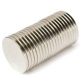 20 adet N52 20mm x 2mm Güçlü Disk Mıknatıslar Rare Toprak Neodimyum Mıktanıs