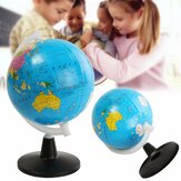8.5cm World Wereldbol Atlas Map Met Swivel Stand Geografie Educatieve Speelgoed Home Decor Gift