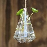 A forma di coltura idroponica di vetro vaso di fiori giardino di casa decorazione della festa nuziale appeso goccia d'acqua