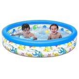 122x25cm Kinder Sommer Outdoor Badewanne Baby Kleinkind Paddeln Aufblasbare Runde Pool Kinder