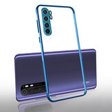 Bakeey for Xiaomi Mi Note 10 Lite Case 2 in 1 Plating Lens Protect Ultra-thin Anti-fingerprint Shockproof Transparent Soft TPU Protective Case Non-original