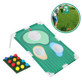 Golf Chipping Practice Board Avec Net Golf Pitching Cages Mats Kit Set Golf Training Aids for Indoor Outdoor