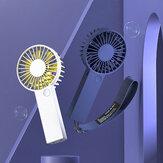 VH portátil USB de carregamento mini ventilador portátil Ventiladores de resfriamento de ar ajustáveis de 3 níveis