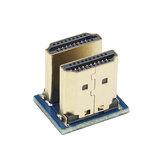 Adaptador Catda Micro HDMI 1.4 HD macho para macho Adaptador bidirecional para Raspberry Pi 3B +