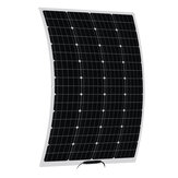 100W 18V Flexible Solar Panel Battery Power Charge Kit For RV Car Boat Camping