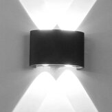 Modern LED Wall Light Waterproof Indoor Outdoor Up Down Sconce Lamp Home Decor