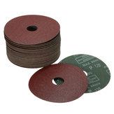 50pcs 115mm Sanding Grinding Discs Wheels 24-120 Grit for Angle Grinder