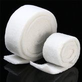 3m 6m Long Aquarium Filter Cotton Fish Tank Foam Cotton Pad Mat Media Filter
