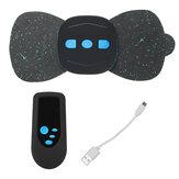 Pescoço elétrico Voltar Massagem Adesivo Músculo Abdominal Trainer Estimulador Muscular Controle Remoto Alívio da dor