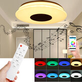 36CM/40CM 36W Smart bluetooth LED Ceiling Light Dimmable RGB Music APP Bedroom Lamp with Remote Control