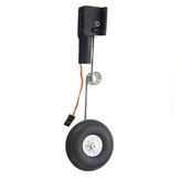 40g Worm Steering Gear Πτυσσόμενο εργαλείο προσγείωσης για σταθερά πτερύγια RC Airplane Aircraft Accessories