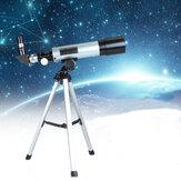 EspaçoMonoculardamanchadoespaço do telescópio astronômico exterior de F36050M com tripé portátil