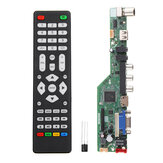 Geekcreit® T.SK106A.03 T.SK105A.03 Universele LCD TV-controller Driver Board PC / VGA / HD / USB-interface