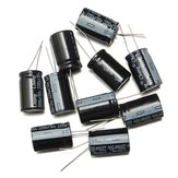 10Pcs 50V 2200UF 16 X 25mm Electrolytic Capacitor