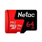 Netac P500 Pro V30 UHS-I U3 Carte Micro SD 100Mo / s Carte mémoire TF 64GB 128GB 256GB