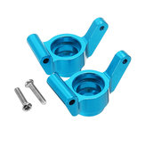 REMO P2513 Blue Aluminum Carriers Stub Axle Rear For Truggy Buggy Short Course 1631 1651 1621