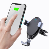 Bakeey 10W Wireless Car Charger Fast Charging Stand Holder Phone Bracket For iPhoneXS 11Pro Mi10 Note 9S