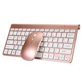مجموعة لوحة مفاتيح وماوس لاسلكية صغيرة 2.4 جيجا هرتز 78 مفتاح لوحة مفاتيح أعمال رفيعة للغاية 1200 ديسيبل متوحد الخواص مجموعة كومبو مع USB جهاز است