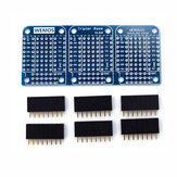 Tripler Base Socket V1.0.0 dla D1 Mini Development Board