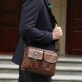 رجلجلدرسولحقيبةريترومحمول حقيبة