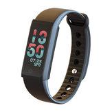 X6s 0.96 inç Renkli Ekran Fitnes Tracker Akıllı Bilezik Bileklik iphone X 8/8 Artı Samsung S9